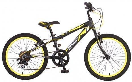Велосипед PRIDE JOHNNY 2015 черно-желтый матовый