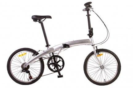 Велосипед PRIDE Mini 6sp 2015 серебристый