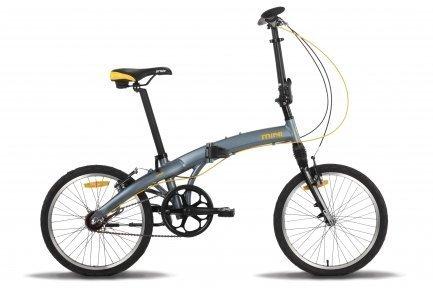 Велосипед PRIDE MINI 3sp RST 2015 серо-оранжевый матовый