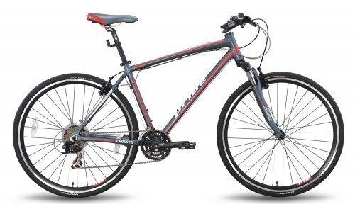 Велосипед PRIDE CROSS 1.0 2015 черно-красный матовый