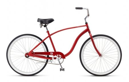 Велосипед Schwinn Cruiser One 2015 red