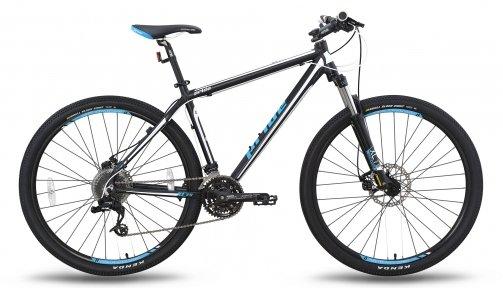 Велосипед PRIDE XC-29 MD 2015 черно-синий матовый