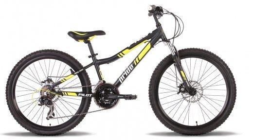 Велосипед PRIDE Pilot 2015 черно-жёлтый