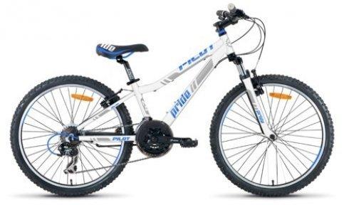 Велосипед PRIDE Pilot 2015 бело-синий