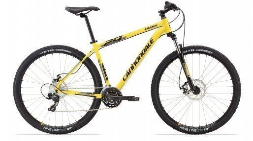 Велосипед Cannondale Trail 29'ER 7 Novela мех. диск 2014 жёлт.