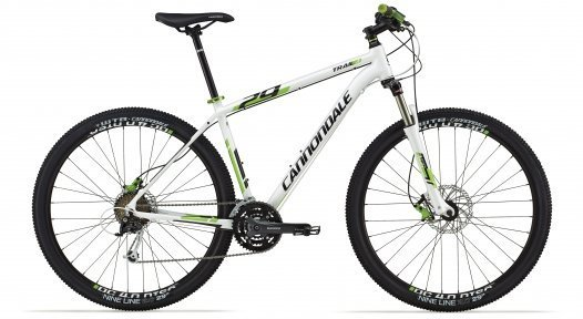 Велосипед Cannondale Trail 29'ER 4 Helix 6 гидравл. 2014 белый