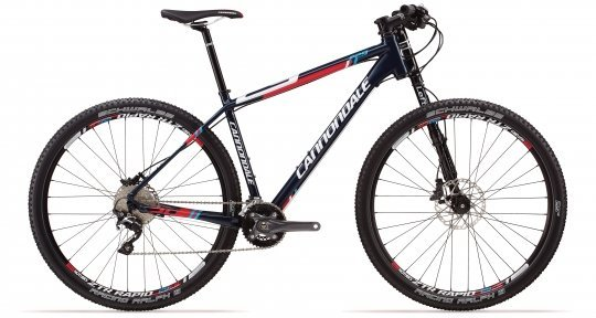 Велосипед Cannondale F5 Alloy 5 2014 синий