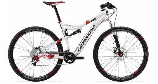 Cannondale SCALPEL 3 2014 белый