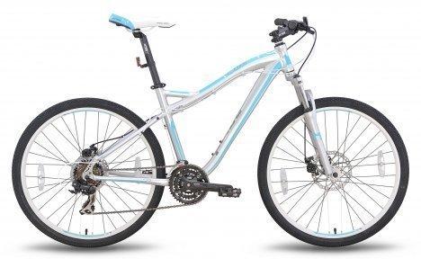 Велосипед PRIDE BIANCA 2015 Disc серо-бирюзовый матовый