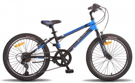 Велосипед PRIDE JACK 6 2015 черно-синий матовый