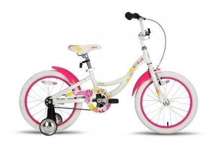 Велосипед PRIDE Amelia 2015 бело-розовый
