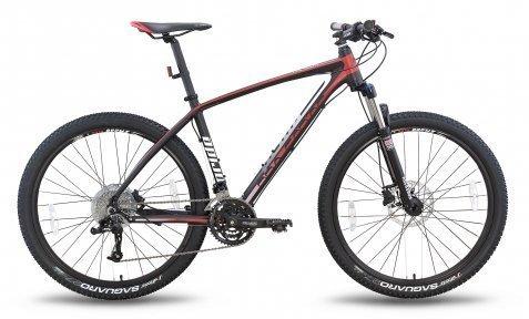 Велосипед PRIDE XC-650 PRO 1.0 2015 черно-красный матовый