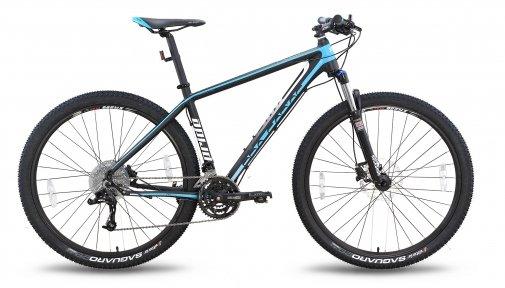 Велосипед PRIDE XC-29 PRO 1.0 2015 черно-синий матовый