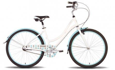 Велосипед PRIDE CLASSIC 2015 бело-голубой