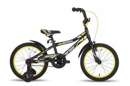 Велосипед PRIDE Rider 2015 черно-жёлтый