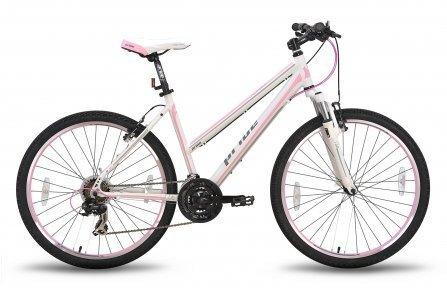 Велосипед PRIDE STELLA 2015 бело-розовый матовый