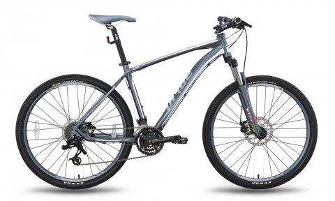 Велосипед PRIDE XC-650 MD 2015 черно-серый матовый