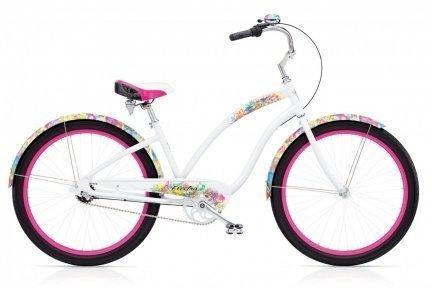 Велосипед ELECTRA Chroma 3i white ladies'