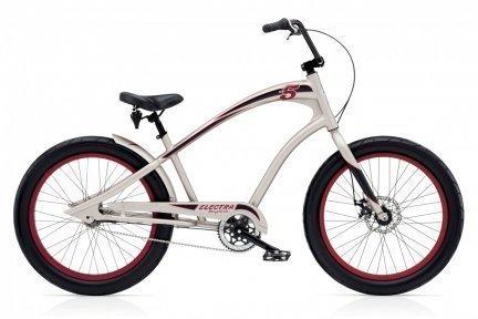 Велосипед ELECTRA Fast 5 3i matte titanium mens'