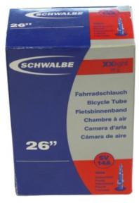 "Камера Schwalbe 26"" (40/54x559) SV 40мм SV14A XXlight IB"