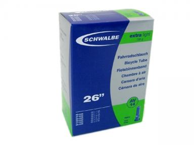 "Камера Schwalbe 26"" (40/60x559) a/v 40мм AV14 EXTRA LIGHT IB AGV"