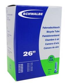 """Камера 26"""" (25 / 40x559) Schwalbe AV12A 40мм EK AGV"""