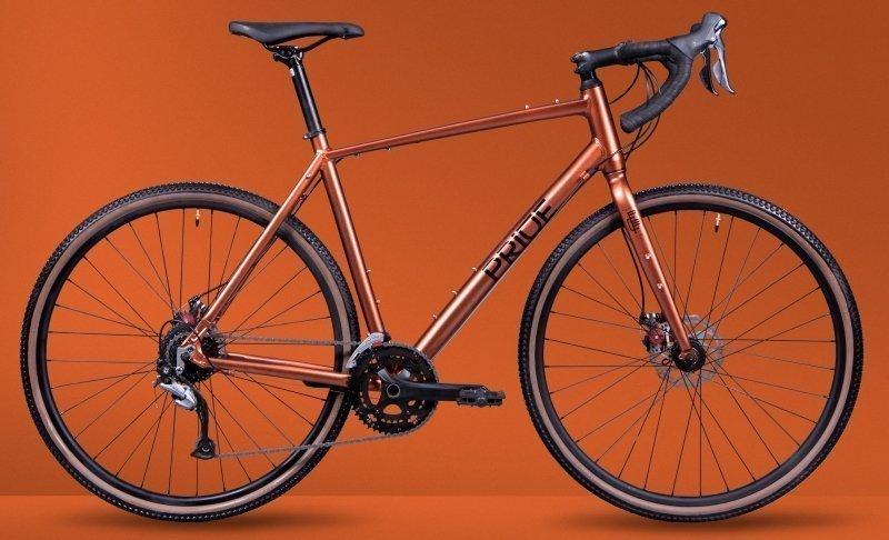 """Велосипед 28"""" Pride RoCX 8.2 (2020) red/wood/black"""