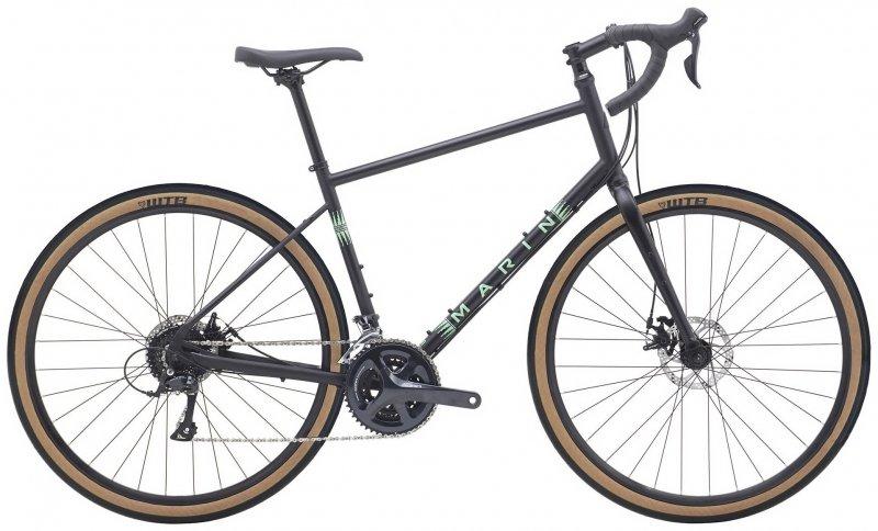 "Велосипед 28"" Marin Four Corners (2020) satin black"