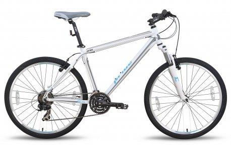 Велосипед PRIDE XC-26 2015 бело-синий матовый