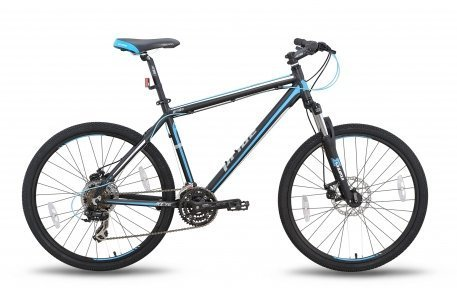 Велосипед PRIDE XC-26 MD 2015 черно-синий матовый