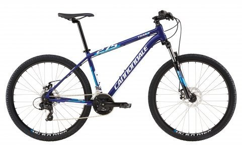 Велосипед Cannondale TRAIL 8 27.5 2016 blue