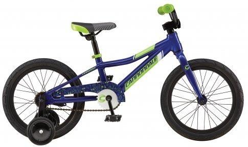 Велосипед CANNONDALE KIDS 16 2017 blue