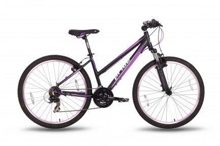 Велосипед PRIDE STELLA 2016 черно-фиолетовый матовый