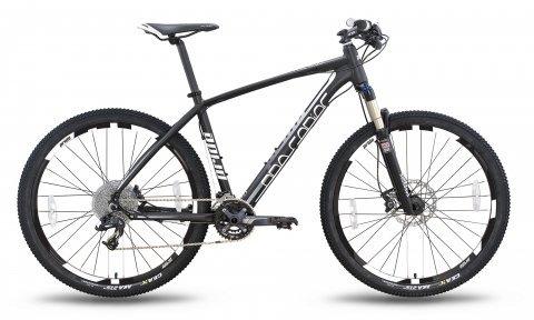 Велосипед PRIDE XC-650 PRO 2.0 2016 черно-белый матовый