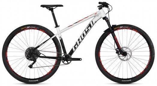 "Велосипед 29"" Ghost Kato X4.9 star white / night black / riot red"