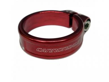 Підсідельний хомут Cannondale (35.0 мм) під трубу 31.6, червоний KP164 / RED