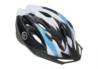 Шлем BLAZE белый-синий, размер M/L