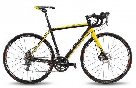 Велосипед PRIDE ROCKET CLARIS DISC 2016 черно-желтый
