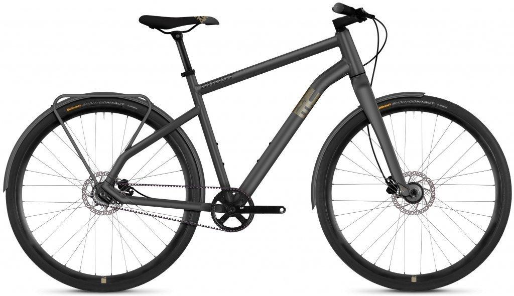 "Велосипед 28"" Ghost Square Urban 3.8 urban gray / tan / night black"