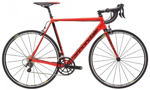 Велосипед Cannondale CAAD12 Ultegra 2016 red