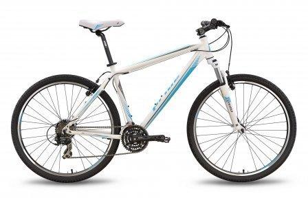 Велосипед PRIDE XC-650 V-br 2016 бело-синий матовый