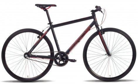 Велосипед PRIDE BULLET 2016 черный матовый
