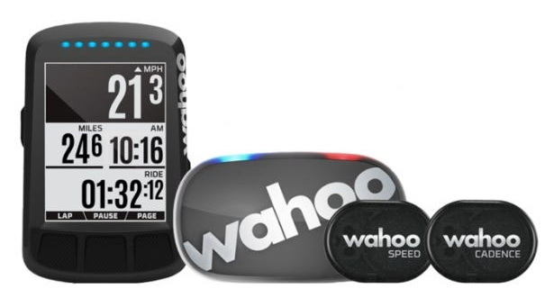 Велокомпьютер Wahoo ELEMNT Bolt GPS Stealth Edition BUNDLE