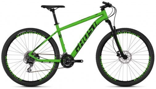 "Велосипед 27.5"" Ghost Kato 3.7 riot green / night black"