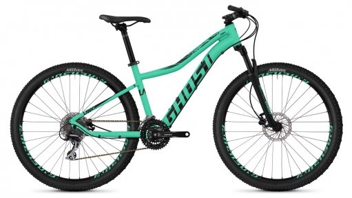 "Велосипед 27.5"" Ghost Lanao 3.7 jade blue / night black"
