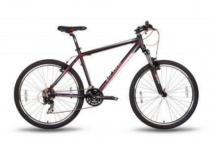 Велосипед PRIDE XC-26 V-br 2016 черно-красный матовый