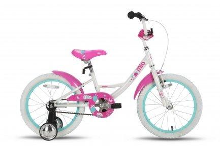 Велосипед PRIDE MIA 2016 бело-розовый глянцевый