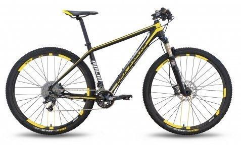 Велосипед PRIDE XC-29 PRO 2.0 2016 черно-желтый