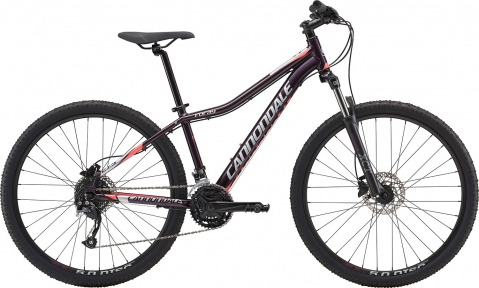 "Велосипед 27,5"" Cannondale Foray 2 GXY бордовый 2018"