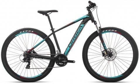 """Велосипед 29"""" Orbea MX 60 2019 Black - Turquoise - Red"""
